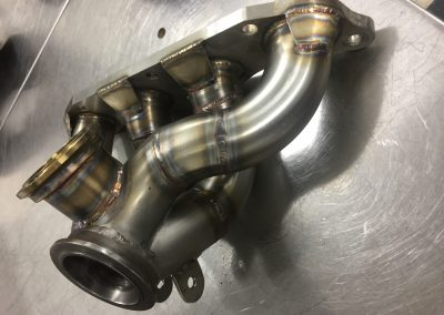 Custom turbo manifold-1